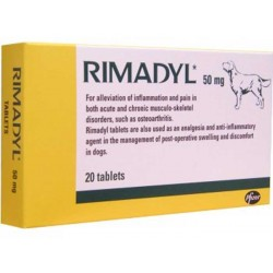 Rimadyl comp 50 mg X 20