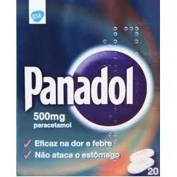 Panadol 500mg 20 comprimidos