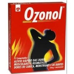 Ozonol 200 mg 12 comprimidos