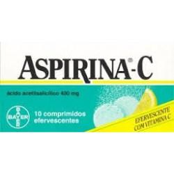 Aspirina 500 mg 10 comprimidos efervescentes