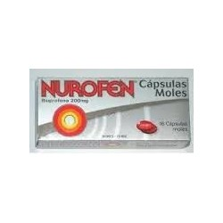 Nurofen 200 mg 16 cápsulas moles