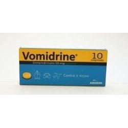 Vomidrine 10 comprimidos