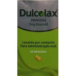 Dulcolax 20 drageias