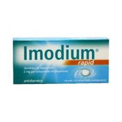 Imodium rapid 10 comprimidos orodispersíveis