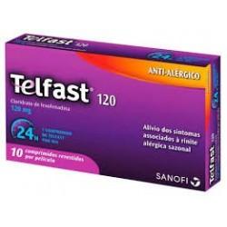 Telfast 120mg  10 comprimidos