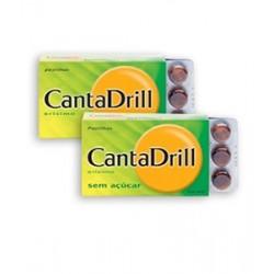 Canta-drill sem açucar 24 pastilhas