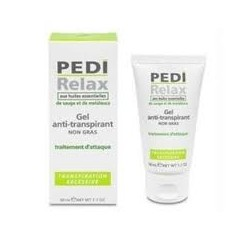 Pedirelax  gel anti-transpirante ação intensa 50ml