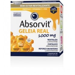 Absorvit Geleia real solução oral 20 ampolas