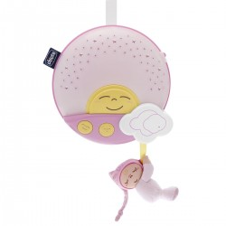 Chicco painel musical sunset rosa