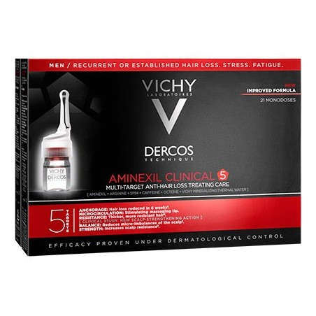 Dercos aminexil intensive 5 mulher 42 ampolas