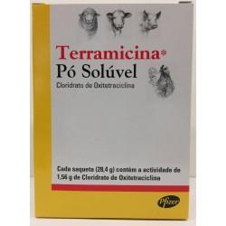 Terramicina Cart 28 , 4 g x 4