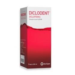 Diclodent solução bucal 200 ml