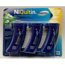 Niquintin menta 4 mg 20 comprimidos para chupar