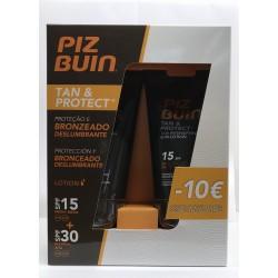 PIZ BUIN Tan&Protect loção corporal SPF30+ 150 ml