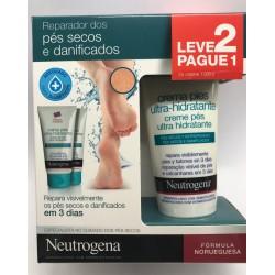 Neutrogena creme de pés ultra-hidratante pack x 2 embalagens