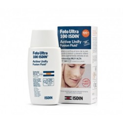 Fotoprotetor ISDIN Ultra 100 active unify fusion fluid 50 ml