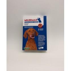 Milbemax cães 2 comprimidos mastigáveis