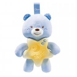 Chicco painel ursinho boa noite azul 0M+