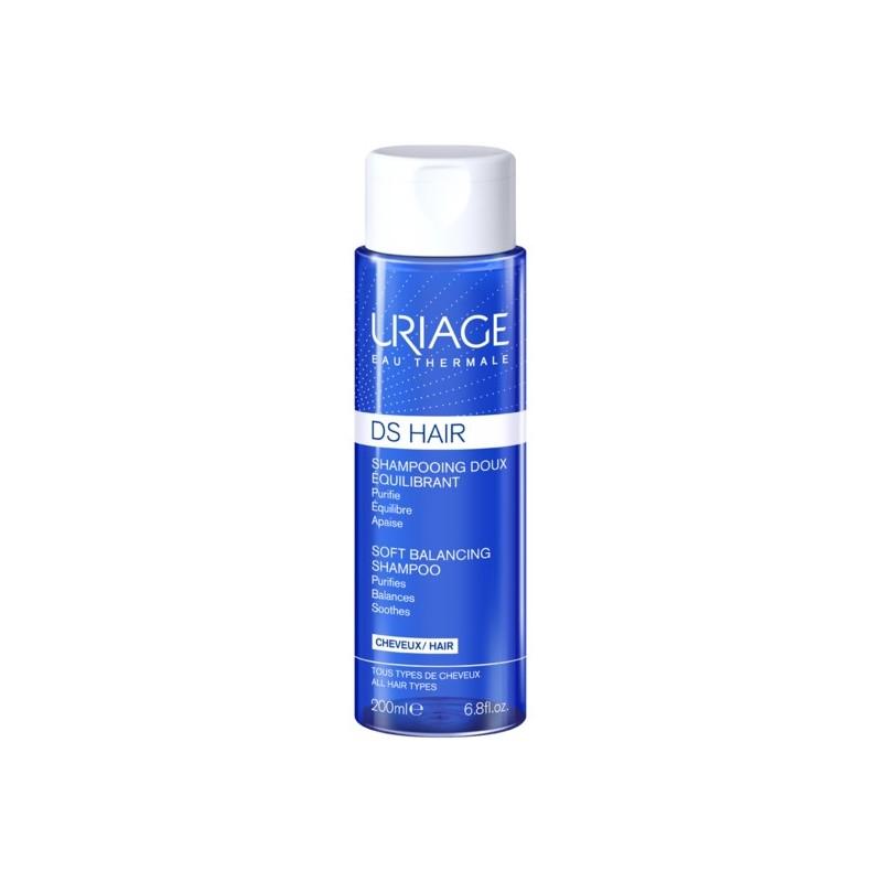 Uriage D.S. Hair champô suave equilíbrio 200 ml