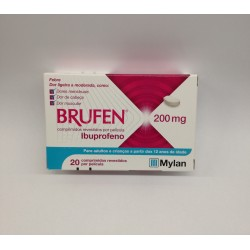 Brufen 200mg 20 comprimidos
